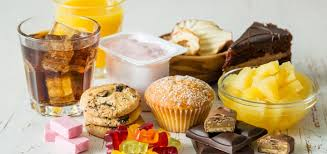 Avoid Sugary Foods to reduce fat