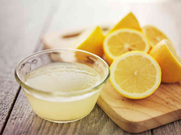 Lemon Juice reduce fat